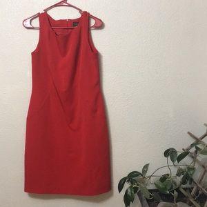 Harve Bernard Vintage Red Dress Size 10